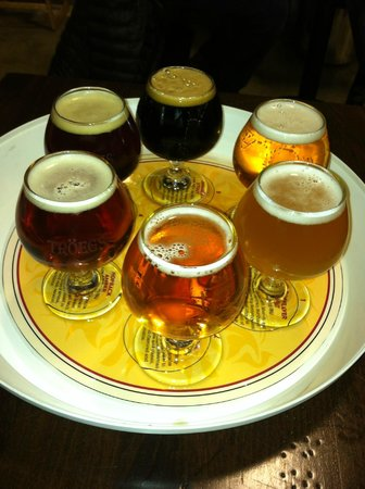 Troegs Brewing Company:                   the sampler