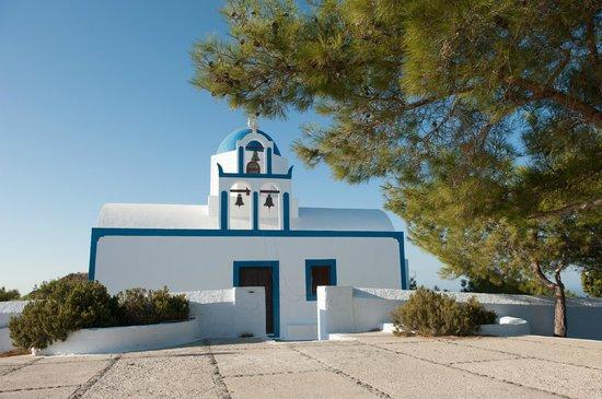 Rocabella Santorini Hotel & Spa:                                                       Chapel