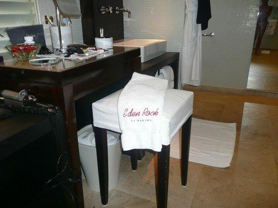 Eden Rock - St Barths :                   Bathroom