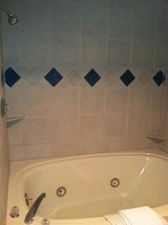 Grand Traverse Resort and Spa:                                     Bathroom Jacuzzi Tub/Shower