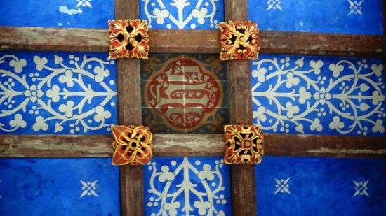 Wimborne Minster:                   Ceiling decoration
