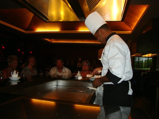 ‪‪Secrets Royal Beach Punta Cana‬: Teppan Grill - must make reservation‬