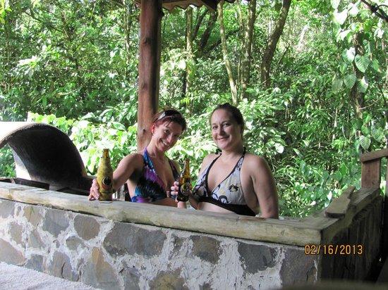 La Carolina Lodge:                   Our privae hot tub
