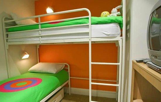 Butlin's Shoreline Hotel:                   family friendly rooms