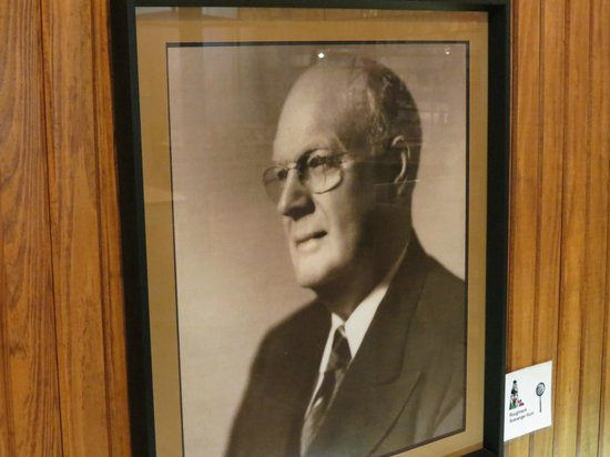 Central Texas Oil Patch Museum:                   Mr Davis...the man behind the oil discovery