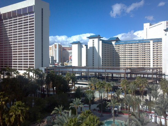 Hilton Grand Vacations at the Flamingo: Morning view