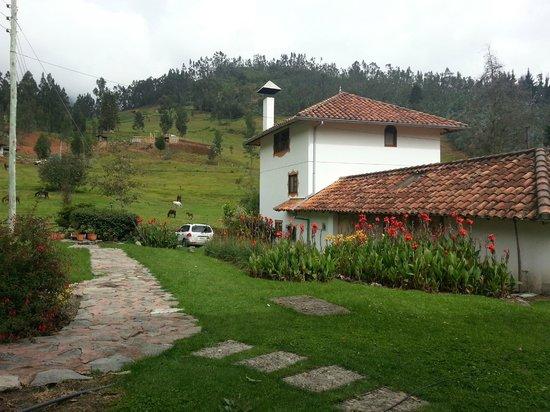 Hosteria Caballo Campana:                   hosteria y jardines