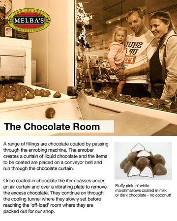 Melba's Chocolate & Confectionery: Melba's Chocolate Factory