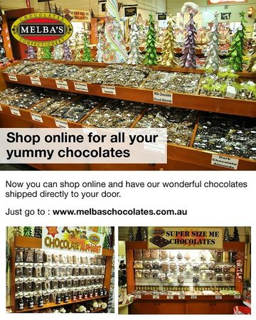 Melba's Chocolate & Confectionery: Melba's Chocolate Factory
