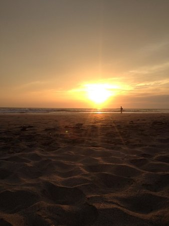 Playa Grande Park Hotel:                   Sunset x Surfers at Playa Grande