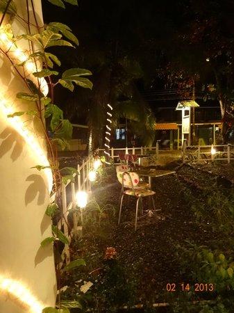 La Ciboulette :                   Vista del restaurant