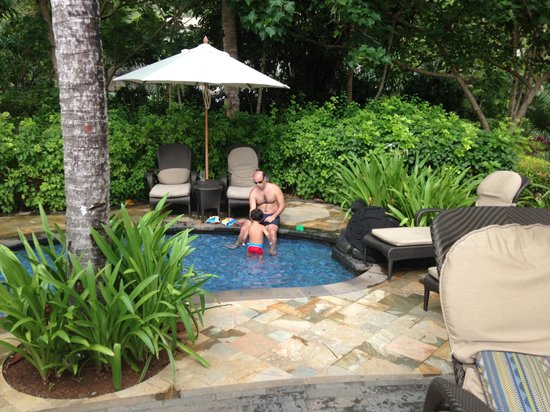Shangri-La's Boracay Resort & Spa:                   The baby pool