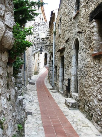 Chateau de la Chevre d'Or:                   Town of Eze