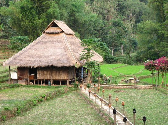 Kamu Lodge:                   Dining villa in the centre of greenfield