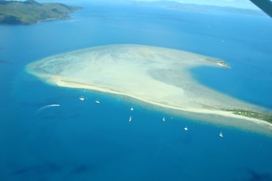 Islas Whitsunday, Australia:                   Pure clean beaches