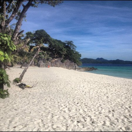 Busuanga Island Paradise:                   Island hop to a beach with sand as white, soft and powdery as Boracay