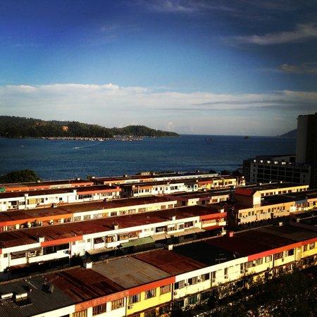 Horizon Hotel:                   seaview from room