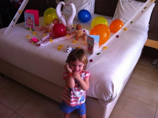 Coral Sea Aqua Club Resort:                   cleaners even done the room up for our daughters birthday