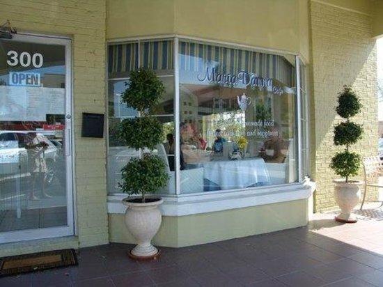 Maria D'anna Cafe:                                     Entrance