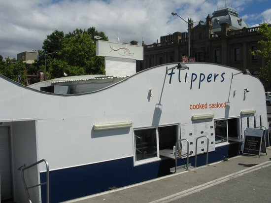 Flippers Cooked & Fresh Seafood: Flippers on Constitution Wharf