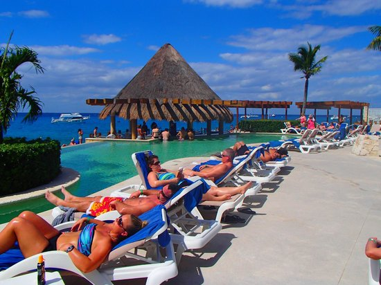Grand Park Royal Cozumel:                   pool ocean  view