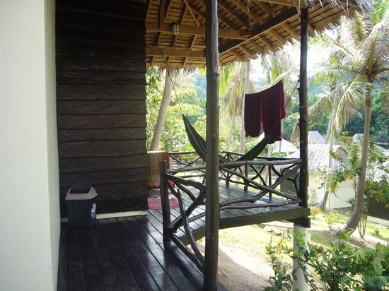 Shiralea Backpackers Resort:                   terasse
