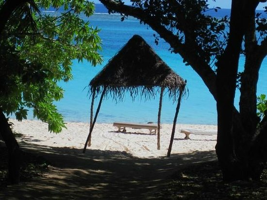 Vatulele Island Resort:                   берег у виллы
