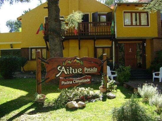 Villa General Belgrano, Argentina:                   Vista Frente de la Posada