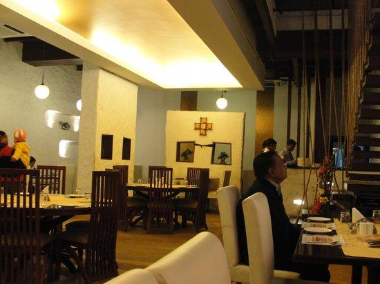 Vedic Vegetarian Restaurant:                                     Ambiance