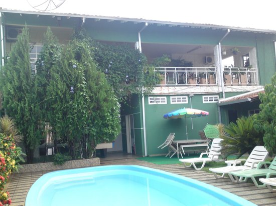Green House Hostel:                   Vista da Piscina