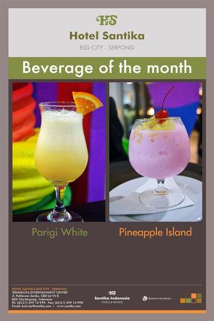 Hotel Santika BSD City: Beverage of the month