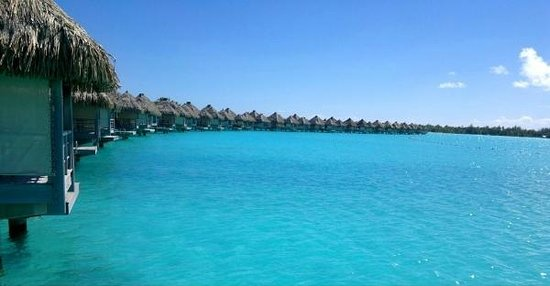 The St. Regis Bora Bora Resort:                   бунгало