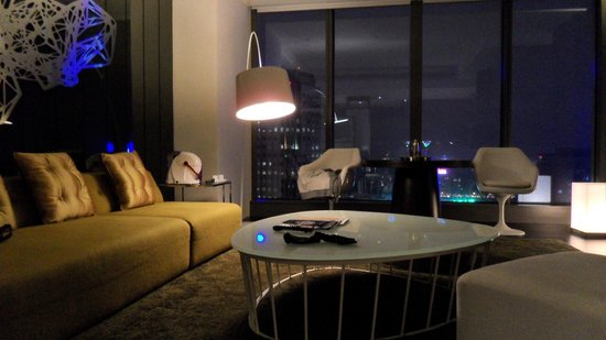 W Taipei:                   Living room suite