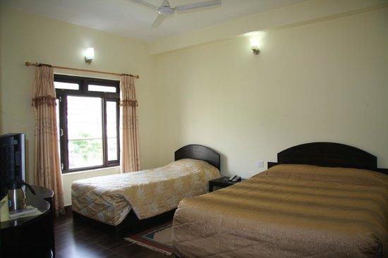 Pokhara Village Resort :                   Delux room