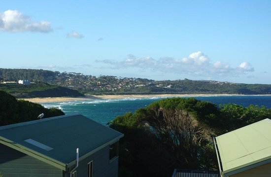 NRMA  Merimbula Beach Holiday Park:                   View from Oceanview Villa verandah