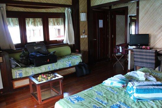 Maitai Polynesia Bora Bora:                   overwater bungalow 17