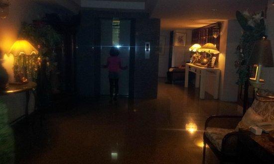Diamond City Hotel:                   アンティークが一杯