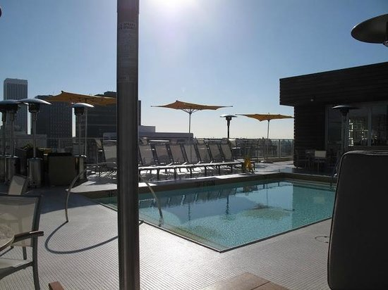The Hotel Wilshire, a Kimpton Hotel:                   Roof top pool great sitting area