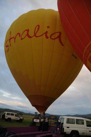 Hot Air Balloon Gold Coast:                                                       Ballon 3