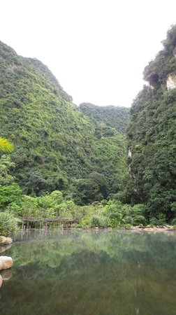 The Banjaran Hotsprings Retreat:                   Scenery