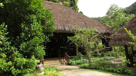 The Banjaran Hotsprings Retreat:                   The Pamelo Restaurant