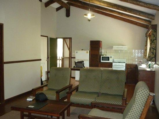 Evedon Park Bush Resort:                   Cabin internal