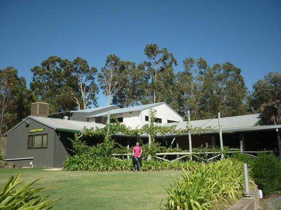 Evedon Park Bush Resort:                   Reception