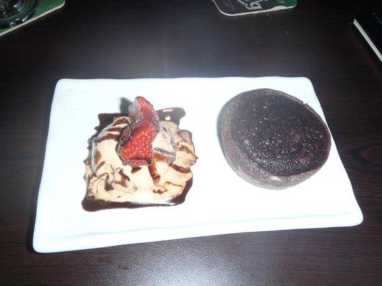 Vin's Restaurant and Bar:                   Chocolate Truffle Cake