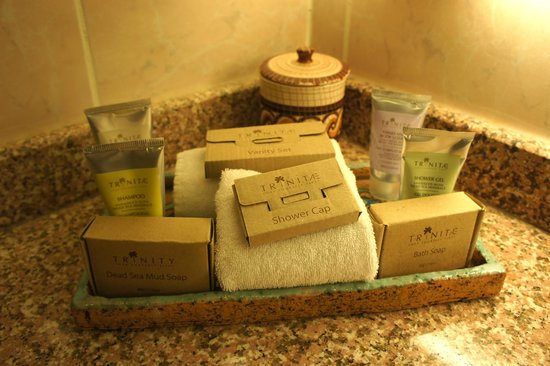 Movenpick Resort Petra:                   Complimentary bathing products