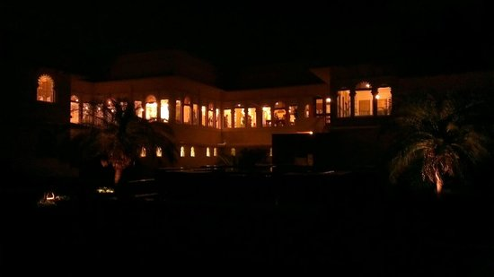 Trident Udaipur :                   Night View