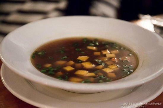 Firefly Restaurant :                   Onion Soup