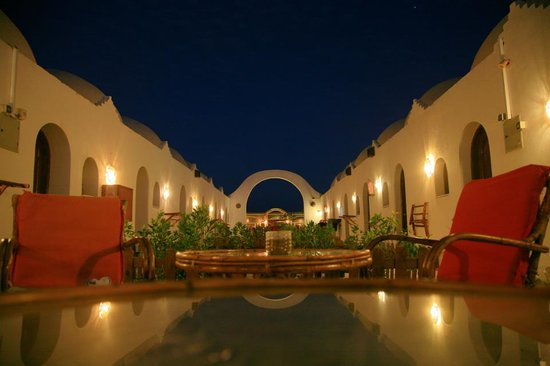 Ghazala Hotel at night