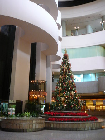 Holiday Inn Singapore Atrium:                   the lobby
