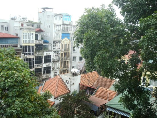 Hanoi Blue Sky Hotel:                   The view!
